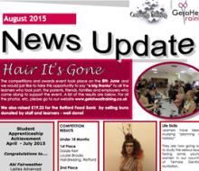 GeTaHead Training Newsletter - August 2015